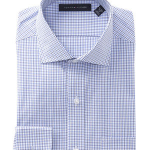 Tommy Hilfiger Checked Long Sleeve Dress Shirt